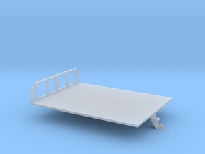 1/50th Morooka platform bed in Smooth Fine Detail Plastic