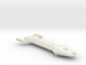 3788 Scale Hydran Chausseur New Scout Cruiser CVN in White Natural Versatile Plastic