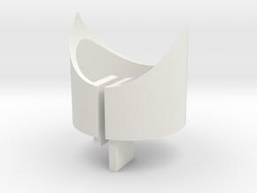 EC 44 Head Tube X Core, Leg in White Natural Versatile Plastic