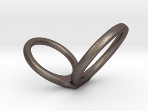 infinity scale 1.8 in Polished Bronzed Silver Steel