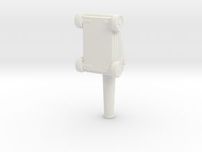little ship cannon  in White Natural Versatile Plastic