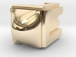 Dreidel in 14k Gold Plated Brass