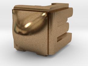 Dreidel in Natural Brass