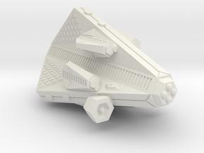 3788 Scale Tholian Gunboat (PF) Tender w/ Gunboats in White Natural Versatile Plastic