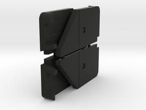 Hornby Mk4 underframe replacement components.  in Black Premium Versatile Plastic