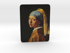 Girl with a Pearl Earring in Full Color Sandstone