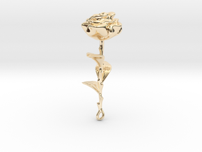 Rose in 14K Yellow Gold