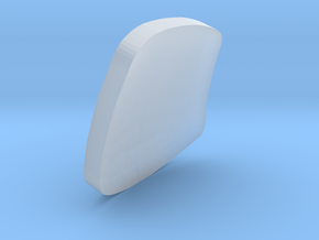 ETR610 Carriage 1 Windscreen/Glass Z, N and TT in Smooth Fine Detail Plastic: 1:220 - Z