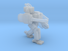 ICE Mech Two Legged Brawler in Smooth Fine Detail Plastic