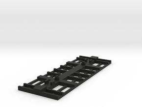 On30 12.5 Base Underframe in Black Natural Versatile Plastic