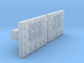 1/50 PT Boat Bridge Control Pannel Typ1 Set01 in Smooth Fine Detail Plastic