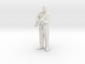 Printle C Homme 003 - 1/24 - wob in White Natural Versatile Plastic