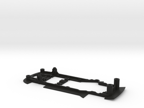 S08-ST4 Chassis for Carrera Ferrari 458 GT2 SSD/ST in Black Natural Versatile Plastic