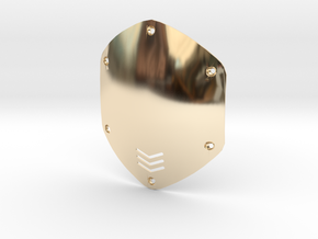 V-moda M80 Shield Replacement in 14K Yellow Gold