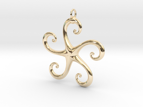 5Star in 14K Yellow Gold