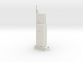 Comcast Technology Center (1:2000) in White Natural Versatile Plastic