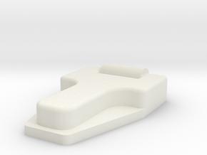 Bonnet hinge TRX-4 in White Natural Versatile Plastic