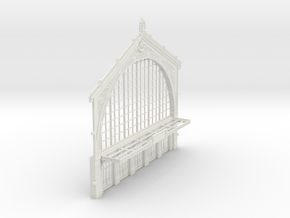 HOGG-VerFac01 - Large modular train station in White Natural Versatile Plastic