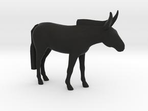 Mule in Black Natural Versatile Plastic: 1:25