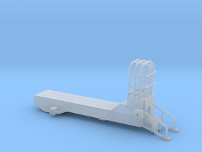 1/64 CUSTOM PULLING TRACTOR FRAME in Smooth Fine Detail Plastic