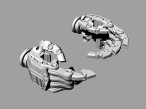 ROTF Leader Optimus Prime hands (movie acc.) in White Natural Versatile Plastic
