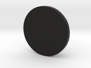 MINI FELGENDECKEL V01 bis 3 Zeichen in Black Natural Versatile Plastic
