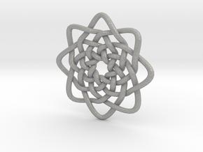 Circle Knots in Aluminum