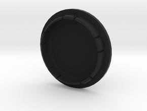 VW FELGENDECKEL_2 bis 9 Zeichen beschreibbar in Black Natural Versatile Plastic