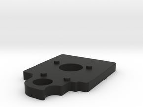 Manfrotto - Quick Release Flush/Flat Mount Spacer in Black Natural Versatile Plastic