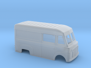 BF commer carrosserie scale 1:120 in Smooth Fine Detail Plastic