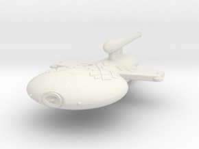 3125 Scale Gorn Megalosaurus+ Light Cruiser (CL) in White Natural Versatile Plastic