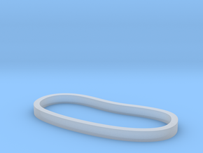Plain Palm Cuff in Smooth Fine Detail Plastic: Extra Small