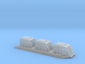 2700 Devastator-dorsal-turrets (base only) in Frosted Ultra Detail