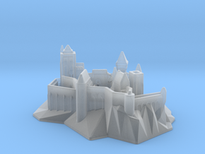 Medieval fantasy castle MIHI3b in Smooth Fine Detail Plastic