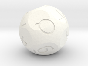 d13 card die in White Strong & Flexible Polished