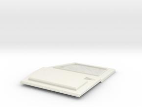 TRX-4 Tactical Front left  Door no logo in White Natural Versatile Plastic