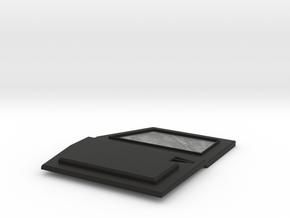TRX-4 Tactical Front left  Door no logo in Black Premium Versatile Plastic