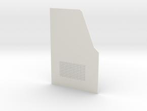 TRX-4 Read door driver side v1 in White Premium Strong & Flexible