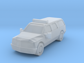 Ford SUV in Smooth Fine Detail Plastic: 1:160 - N