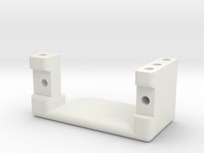 support servo GL V5 in White Natural Versatile Plastic