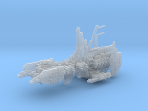 Evil Strike Cruiser mk.1 in Smooth Fine Detail Plastic