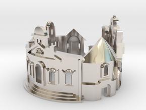 Williamsburg Ring - Architect Jewelry in Platinum: 6 / 51.5