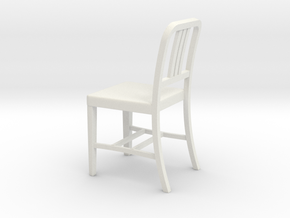 Alum Chair 2.25inches in White Natural Versatile Plastic