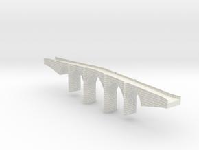 Bridge_1:350 in White Strong & Flexible