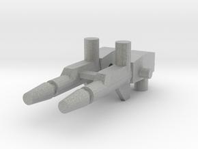 Skullgrin rifles 3mm in Metallic Plastic