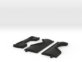 wpl c14 MSR RC bed in Black Strong & Flexible: 1:16