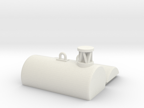 Fasstonne / Buoy 1:50/40/32/25/20 in White Natural Versatile Plastic: 1:50