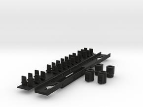 N_AM double SPRINTER planchers 180302 in Black Natural Versatile Plastic