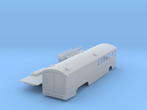 Great Northern Bus HO in Smooth Fine Detail Plastic