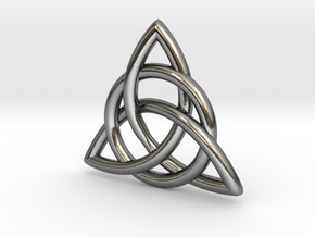 Celtic Knot in Polished Silver
